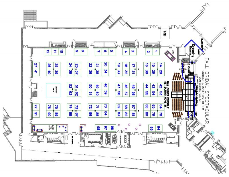 Floor Plan Fort Wayne Bridal Spectacular And Beyondfort Wayne Bridal Spectacular And Beyond